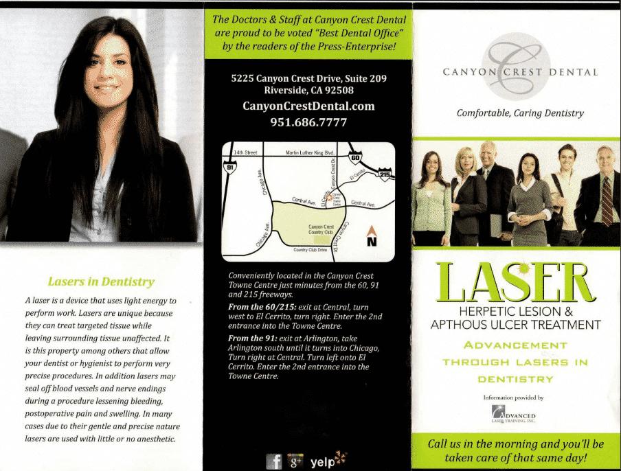 Laser Dentistry Brochure