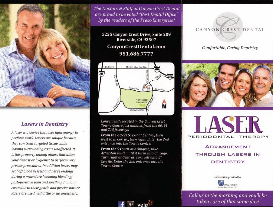Periodontal Laser Treatment Brochure